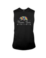 Mama Bear Autism Awareness Shirts Sleeveless Tee thumbnail