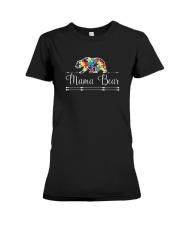 Mama Bear Autism Awareness Shirts Premium Fit Ladies Tee thumbnail