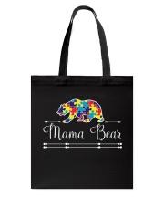 Mama Bear Autism Awareness Shirts Tote Bag thumbnail