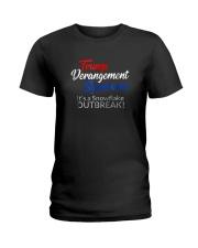 Trump Derangement Syndrome Shirt Ladies T-Shirt thumbnail