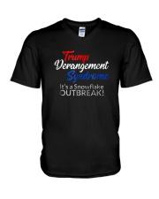 Trump Derangement Syndrome Shirt V-Neck T-Shirt thumbnail