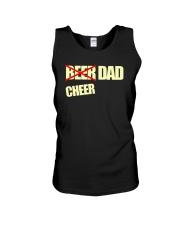Funny Cheerleader Gift Beer Cheer Dad T Shirt Unisex Tank thumbnail