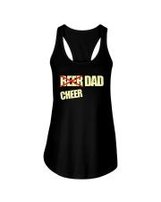 Funny Cheerleader Gift Beer Cheer Dad T Shirt Ladies Flowy Tank thumbnail