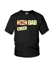 Funny Cheerleader Gift Beer Cheer Dad T Shirt Youth T-Shirt thumbnail