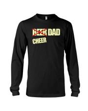 Funny Cheerleader Gift Beer Cheer Dad T Shirt Long Sleeve Tee thumbnail