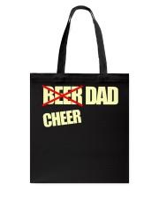 Funny Cheerleader Gift Beer Cheer Dad T Shirt Tote Bag thumbnail