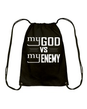 My God vs My Enemies TShirt Drawstring Bag tile