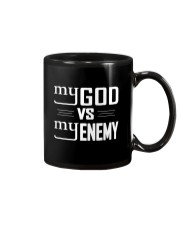 My God vs My Enemies TShirt Mug tile