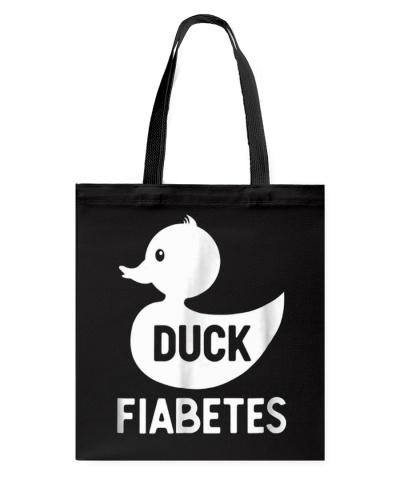 Duck Fiabetes Funny Diabetes T-Shirt