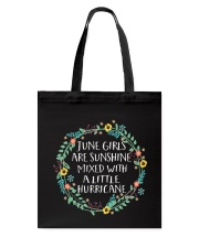 Girls Are Sunshine Mixed With a Little Hurricane S Tote Bag thumbnail