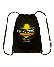 June Girls Are Sunshine Mixed With a Little Shirt Drawstring Bag thumbnail