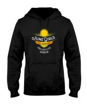 June Girls Are Sunshine Mixed With a Little Shirt Hooded Sweatshirt thumbnail
