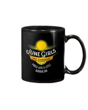 June Girls Are Sunshine Mixed With a Little Shirt Mug thumbnail