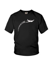 I'd Rather Be Flying Airplane Pilot T-shirt Youth T-Shirt thumbnail