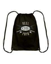Mens Reel Cool Papa Shirt Drawstring Bag thumbnail