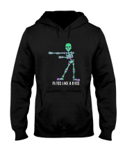 Floss Like A Boss Skeleton T Shirt Hooded Sweatshirt thumbnail