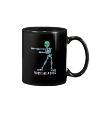 Floss Like A Boss Skeleton T Shirt Mug tile