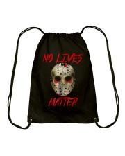 No Lives Matter T-Shirt Drawstring Bag thumbnail
