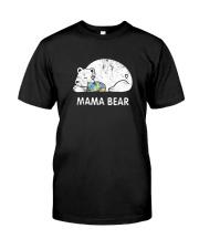 Mama Bear Autism Awareness T-Shirt Classic T-Shirt front