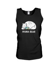 Mama Bear Autism Awareness T-Shirt Unisex Tank thumbnail