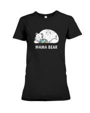 Mama Bear Autism Awareness T-Shirt Premium Fit Ladies Tee thumbnail