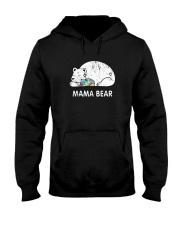 Mama Bear Autism Awareness T-Shirt Hooded Sweatshirt thumbnail