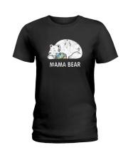 Mama Bear Autism Awareness T-Shirt Ladies T-Shirt thumbnail