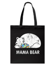 Mama Bear Autism Awareness T-Shirt Tote Bag thumbnail