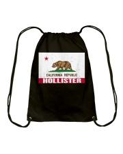 Distressed CA Republic Flag T-Shirt Drawstring Bag thumbnail