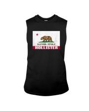 Distressed CA Republic Flag T-Shirt Sleeveless Tee thumbnail