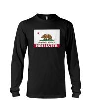 Distressed CA Republic Flag T-Shirt Long Sleeve Tee thumbnail