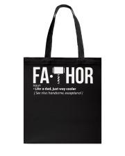 Fa-Thor Fa THOR Gift Shirt Tote Bag thumbnail