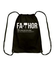 Fa-Thor Fa THOR Gift Shirt Drawstring Bag thumbnail