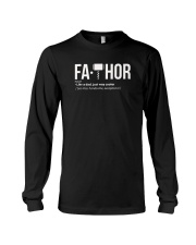 Fa-Thor Fa THOR Gift Shirt Long Sleeve Tee thumbnail