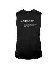 Engineer Definition I'm An Engineer T-shirt Sleeveless Tee thumbnail