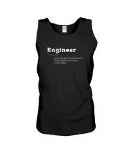 Engineer Definition I'm An Engineer T-shirt Unisex Tank thumbnail