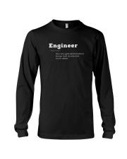 Engineer Definition I'm An Engineer T-shirt Long Sleeve Tee thumbnail