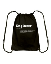 Engineer Definition I'm An Engineer T-shirt Drawstring Bag thumbnail