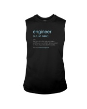 Engineer Definition T-shirt Sleeveless Tee thumbnail