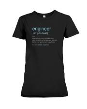 Engineer Definition T-shirt Premium Fit Ladies Tee thumbnail