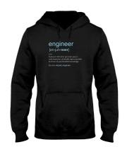 Engineer Definition T-shirt Hooded Sweatshirt thumbnail