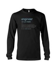 Engineer Definition T-shirt Long Sleeve Tee thumbnail