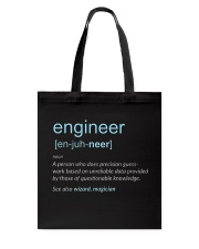 Engineer Definition T-shirt Tote Bag thumbnail