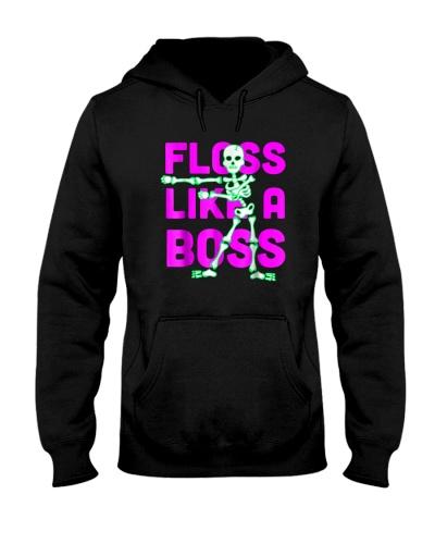 Floss Like a Boss Halloween T-Shirt