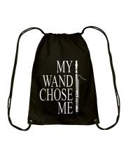 My Wand Chose Me Bassoon T shirt Drawstring Bag thumbnail