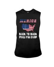 Merica Back To Back World War Shirt Sleeveless Tee thumbnail