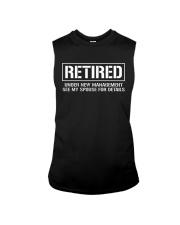Retired Under New Management TShirt Sleeveless Tee thumbnail
