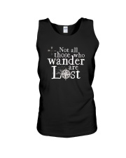 Not All Those Who Wander Are Lost Shirt Unisex Tank thumbnail