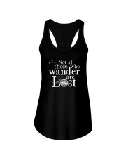 Not All Those Who Wander Are Lost Shirt Ladies Flowy Tank thumbnail