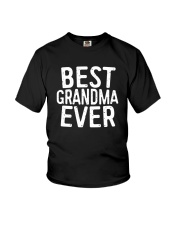 Best Grandma Ever T-Shirt Youth T-Shirt thumbnail